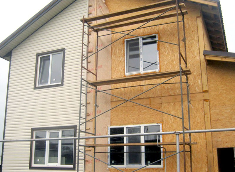 материалы для отделки домов из СИП панелей